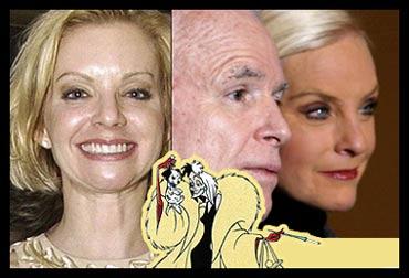 Vicky Iseman, John McCain, Cindy McCain, Cruella deVille