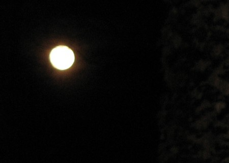 Moon over Atlanta